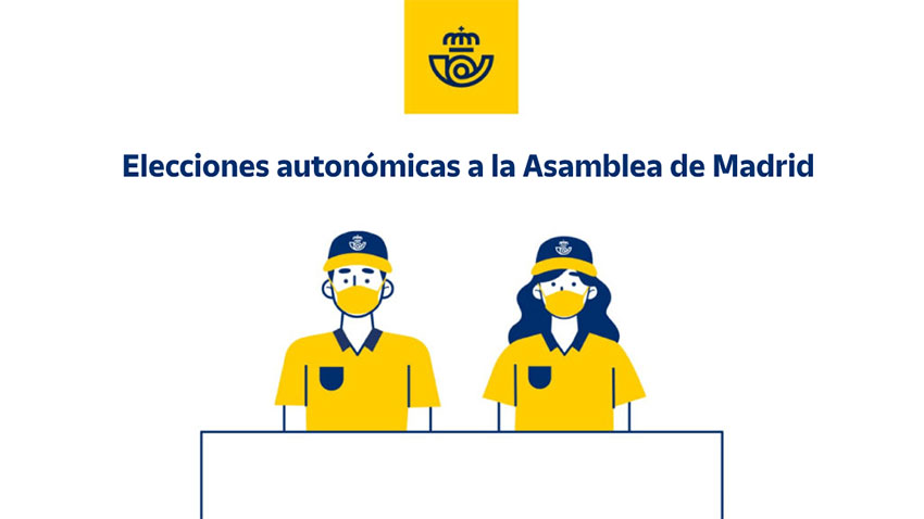 Voto correo elecciones asamblea Madrid