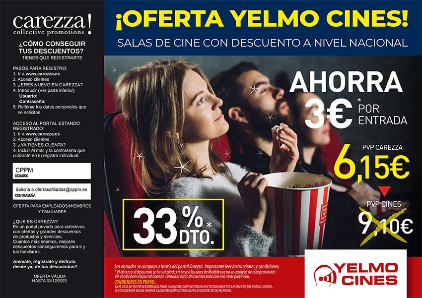 Yelmo cines carezza