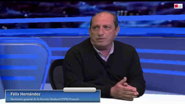 Entrevista Secretario General CPPM pozuelo Felix Hernandez