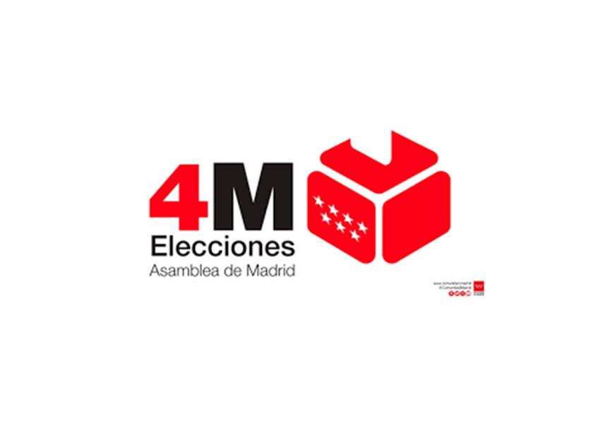 elecciones asamblea Comunidad Madrid 4M mayo 2021
