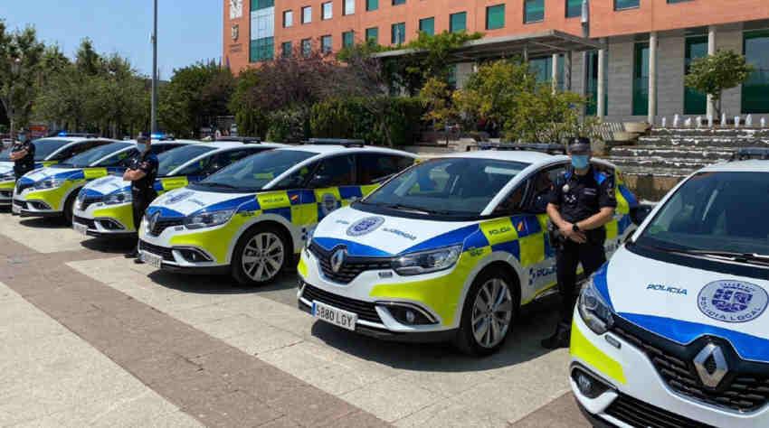 Policía local Alcobendas coche