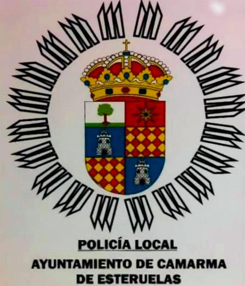 Policía local camarma de esteruelas escudo