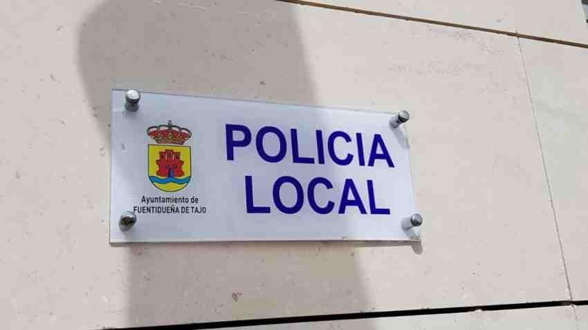 Policía local Fuentidueña Tajo