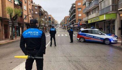 Policía local San Sebastián de los Reyes control