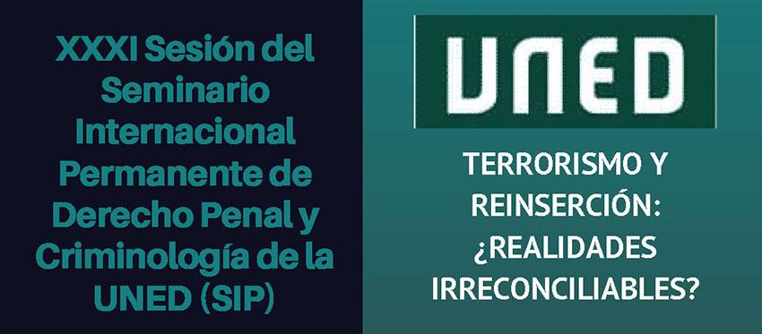 Terrorismo y reinsercion realidades irreconciliables UNED