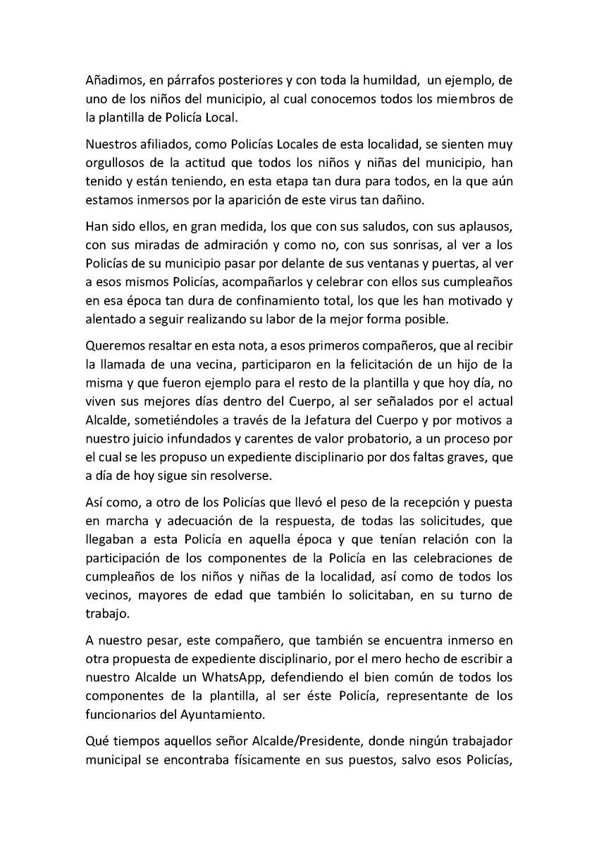Felicitación héroes Paracuellos de Jarama