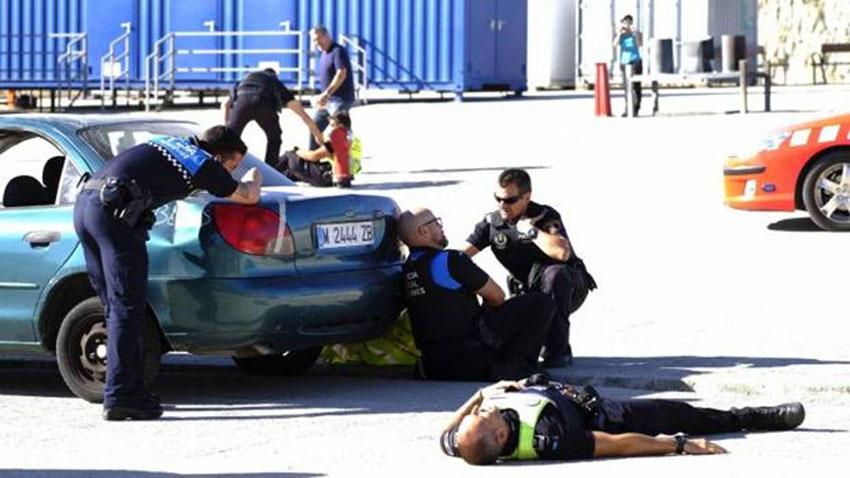 intervención policial en atentado terrorista indiscriminado sindicato cppm