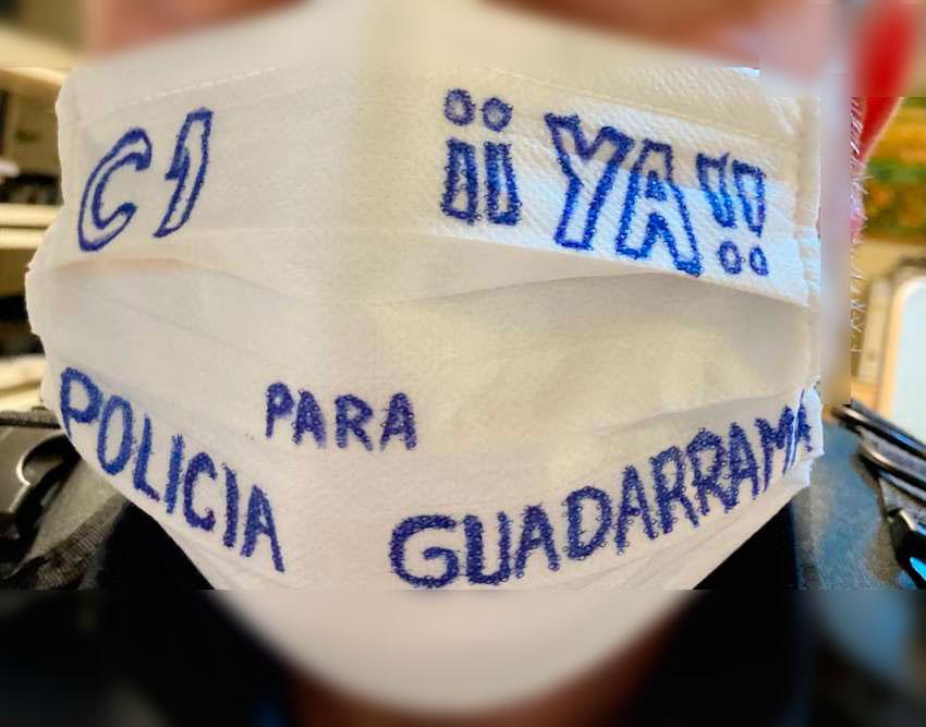 Dignidad para la policía local de Guadarrama