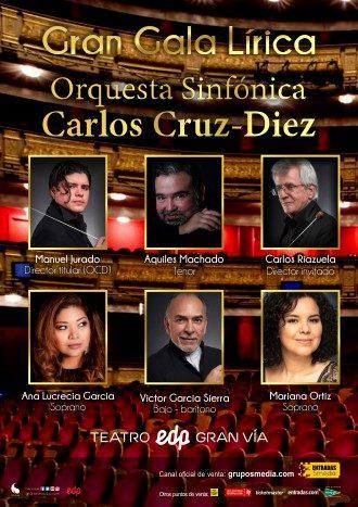 Gala lírica Orquesta Cruz-diez teatro gruposmedia