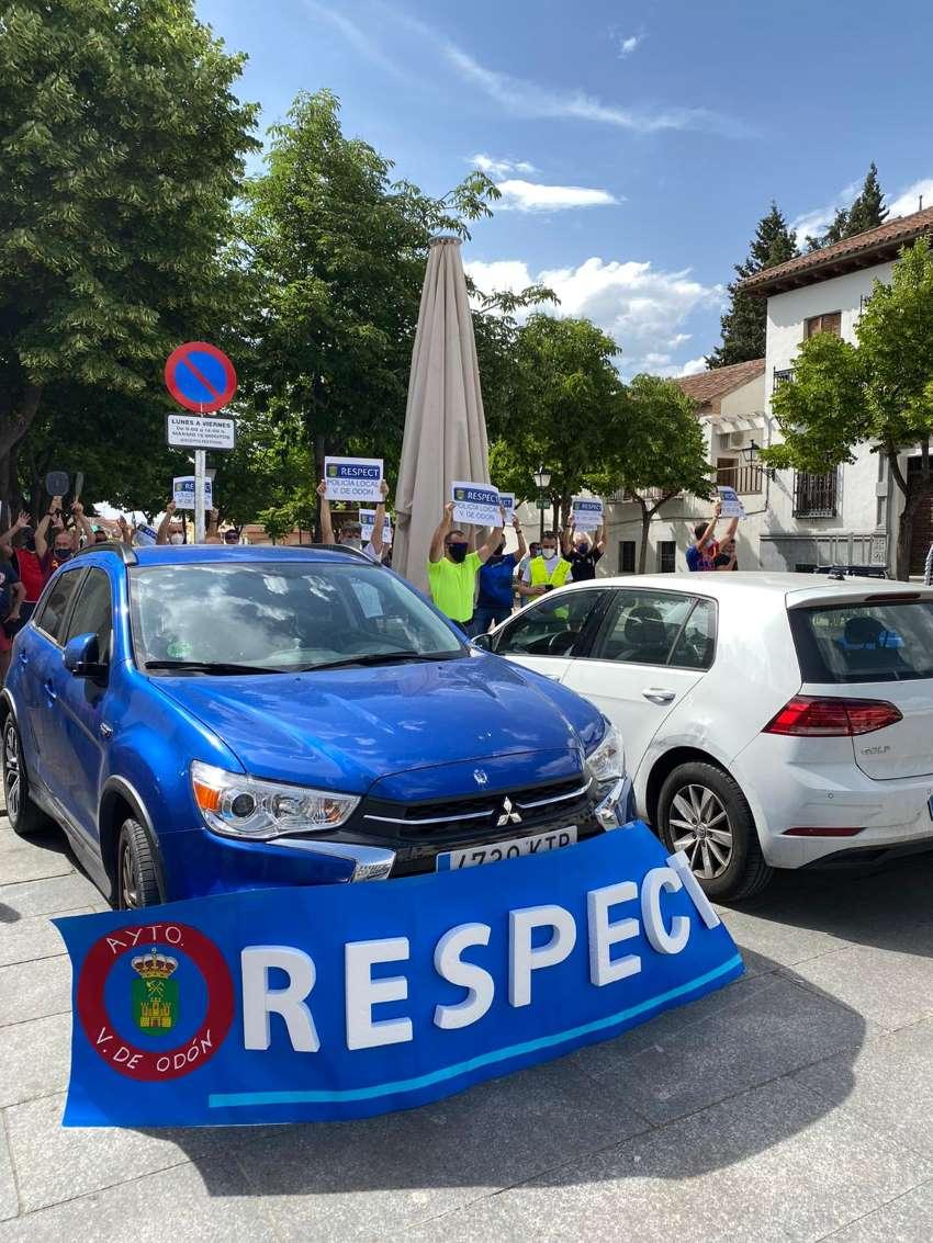 Protesta Sindicatos Policía local Villaviciosa de Odon CPPM