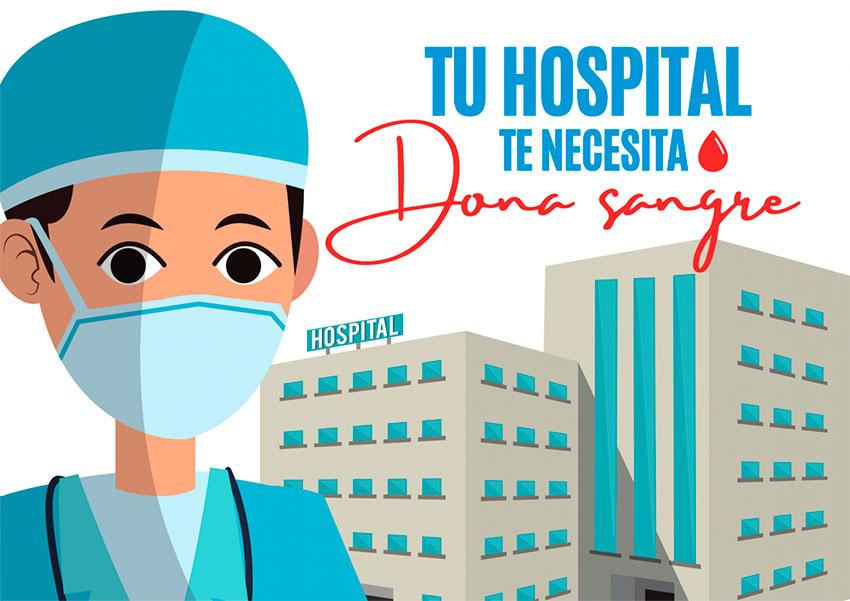 14-18 DE JUNIO. Semana de la donación de sangre. Tu hospital te necesita