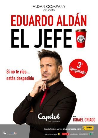 El jefe Eduardo Aldan
