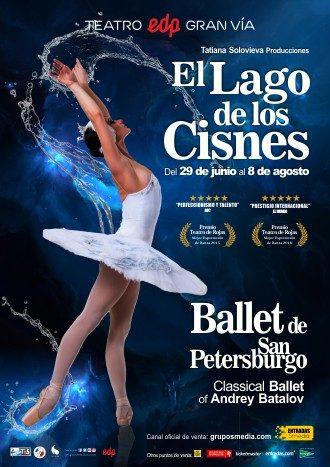 El lago de los cirnes Ballet de San Peterburgo