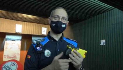Pistolas taser policia local alcobendas