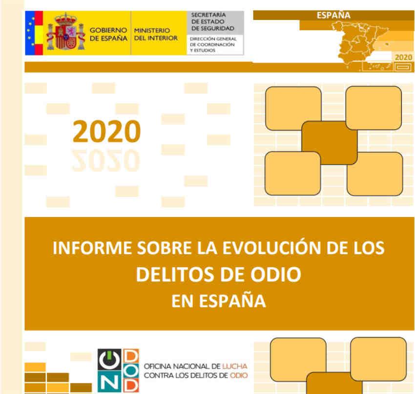 Informe delitos odio España 2020