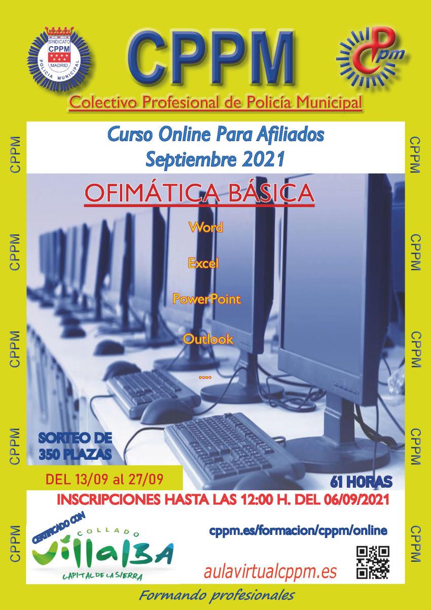 Ofimática básica curso online cppm