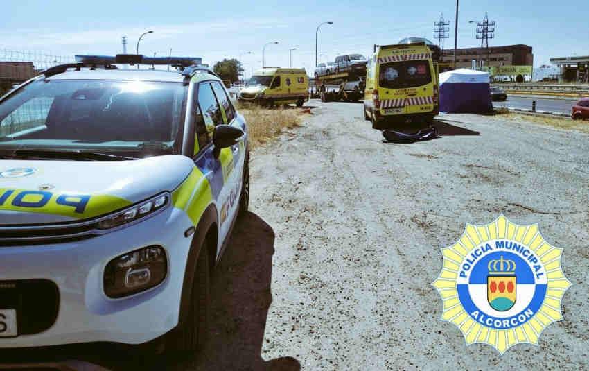 Policía local Alcorcón coche