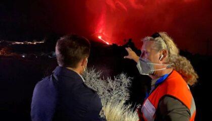 Donación volcán La Palma