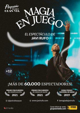 Magia en juego Javier Rufo Teatro Grupo smedia