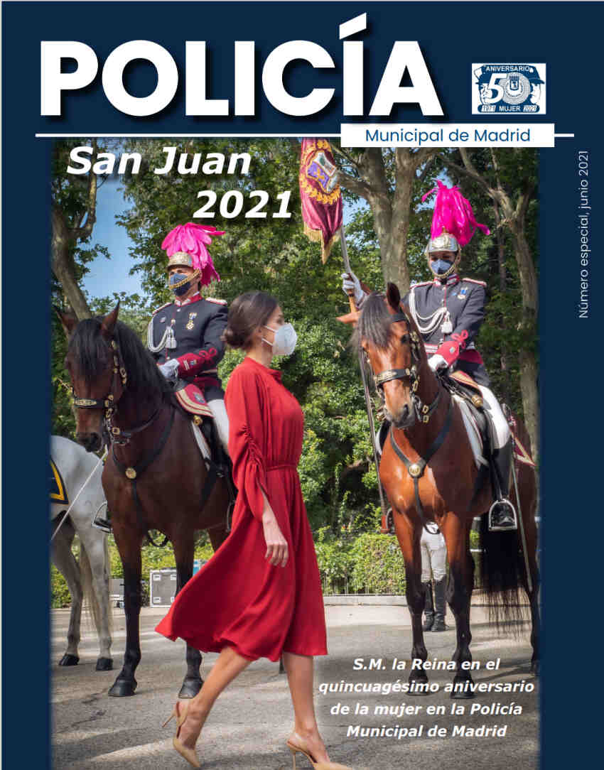 Revista Policía Municipal Madrid junio 2021