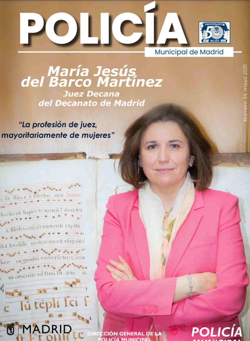 Revista Policía Municipal Madrid mayo 2021