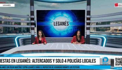 Informativo Leganés altercados fiestas san nicasio 2021 policía local CPPM leganés