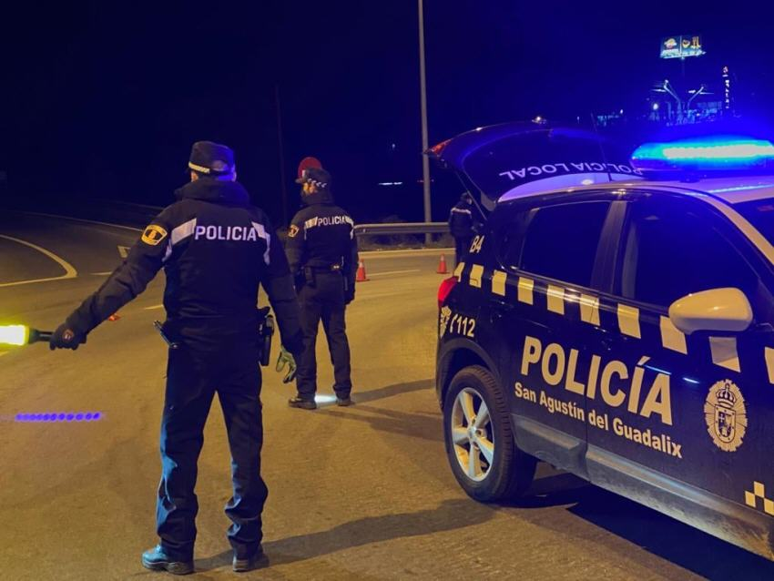 Policía local San Agustín del Guadalix control