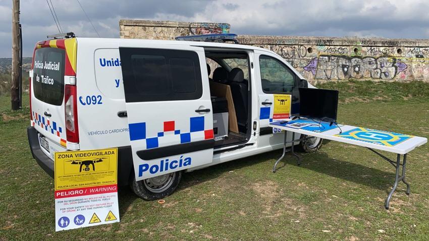 Policía local San Agustín del Guadalix dron